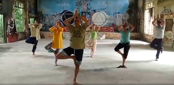 Yoga en Ashram Beatles