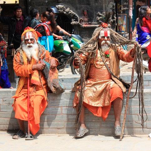 Hindúes de Bhaktapur