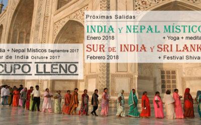 Viajes Espirituales: Próximas salidas Enero y Febrero 2018