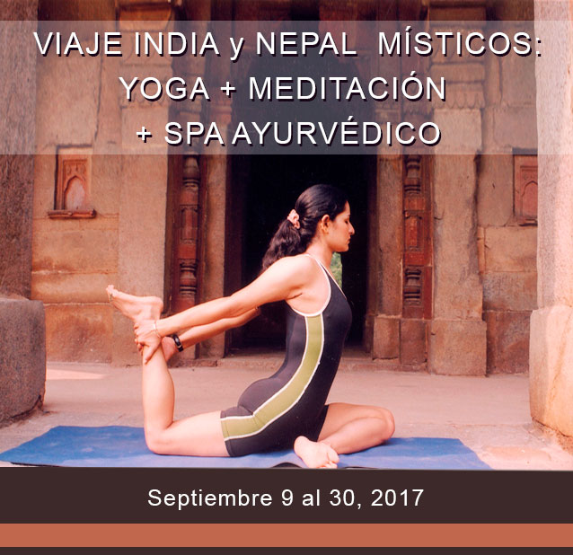 Presentación en Buenos Aires: Viaje India Mística + Yoga + Meditación / Febrero 2017
