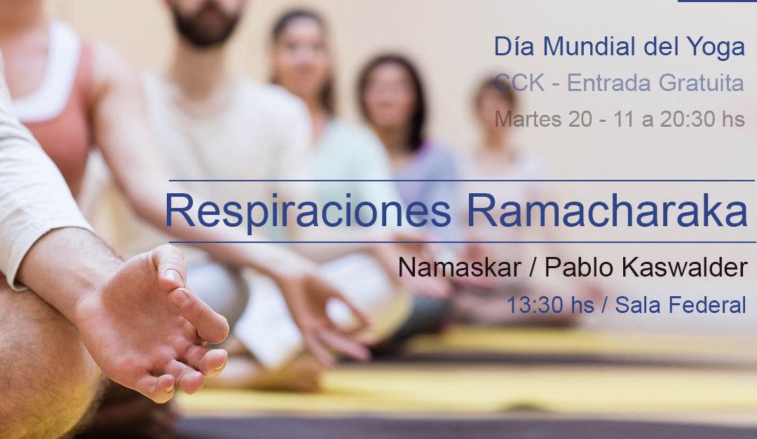 Respiraciones Ramacharaka / Día Mundial del Yoga
