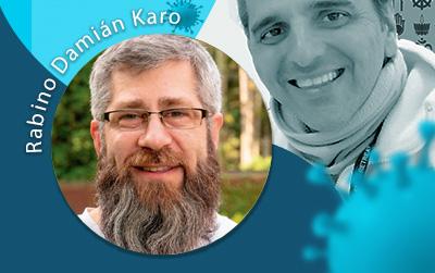 Covid19 y Espiritualidad: Charla con Rabino Damián Karo